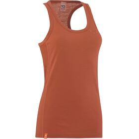Kari Traa Tikse - Camisa sin mangas Mujer - naranja